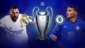 Real Madrid drew with Chelsea in the first leg of the Champions League semi-final