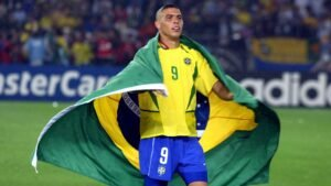 Football legends: Ronaldo. National team career