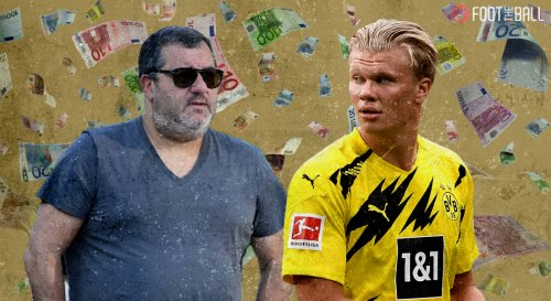 Mino Raiola Trying To Land A Huge Contract for Haaland Next Summer?