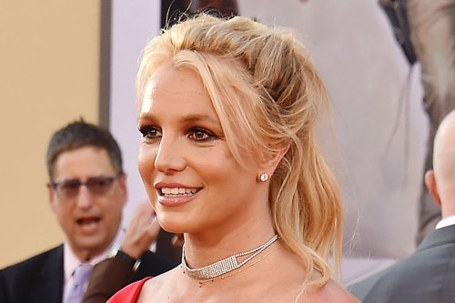 Britney Spears Channels Her 'Oops!… I Did It Again' Days in a Metallic Catsuit & Towering Heels