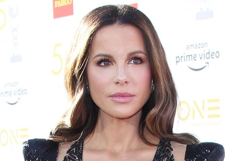 Kate Beckinsale Puts a Glamorous Spin on Summer Dressing in Plaid Dress and Pointy Pumps
