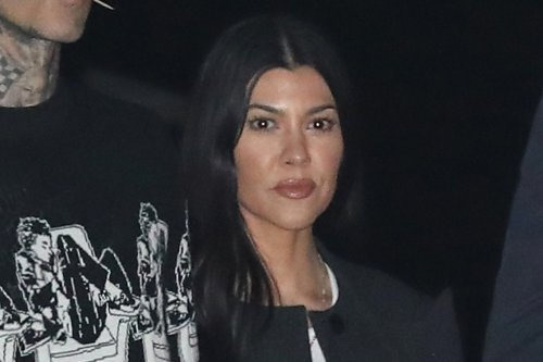 Kourtney Kardashian Styles Her Favorite '70s Shoe Trend With Her Sisters Reunion With Kim, Khloe and Kylie and Kendall Jenner