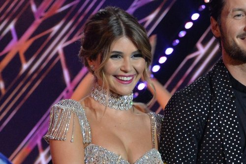 Olivia Jade Sparkles in See-Through Dress and Cutout Pumps on 'Dancing With the Stars'