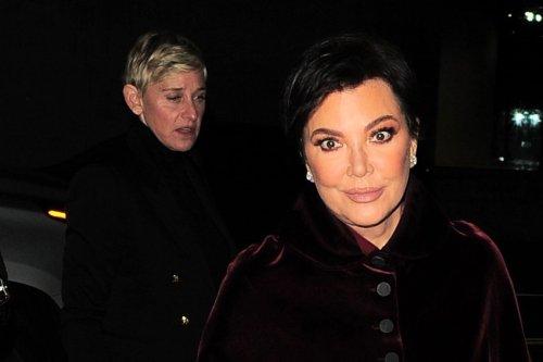 Ellen DeGeneres Crashes Kris Jenner's Date Night in Soft Suede Boots