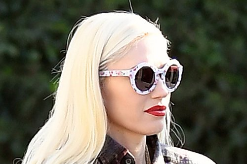 Gwen Stefani Goes Back to School in Bold Fashion Thanks to Her Cutoff Shorts & Fringed Boho Boots
