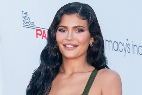 Kylie Jenner's Cutout Tube Dress & Square-Toe Stilettos Bring the 1990s to 2021