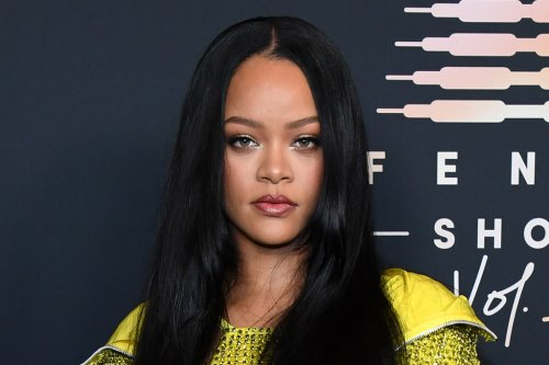 Rihanna Steals the Show in a Glittering Minidress & Hoodie for Savage x Fenty Red Carpet