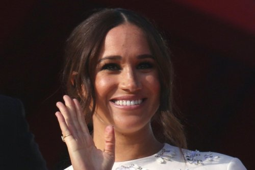 Meghan Markle is Elegant for Global Citizen Live in White Minidress and Classic Black Pumps