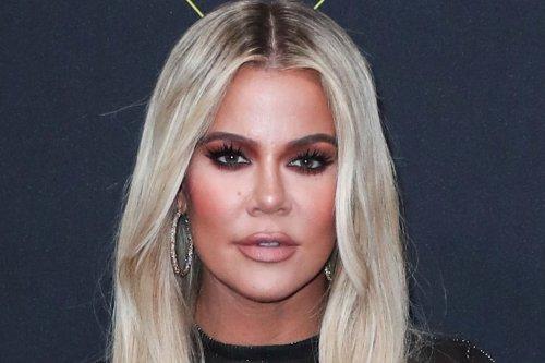 Khloe Kardashian Brings Back 'Blonde KoKo' in a Ribbed Tank Top, Butterfly Sweats & Off-White x Nike Kicks