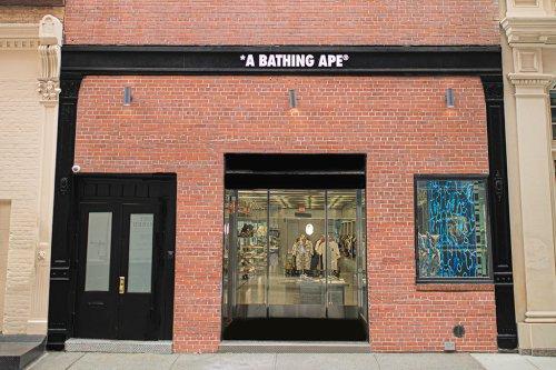 Bape Opens a New Store in New York City's SoHo Neighborhood