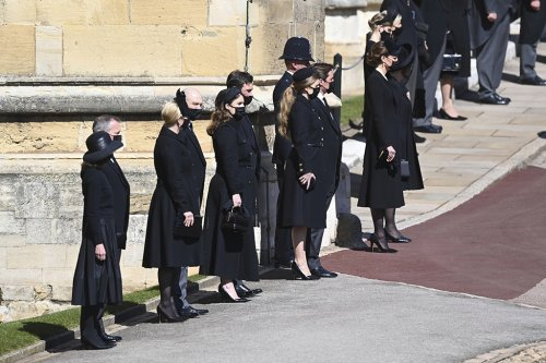 How the Young Royals Coordinated Somber Outfits and Black Heels to Send Message of Unity at Prince Philip's Funeral
