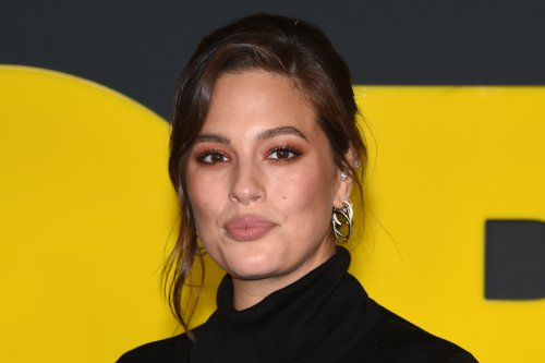 Ashley Graham Works Out in Sheer Leggings & Sports Bra With Sleek White Sneakers