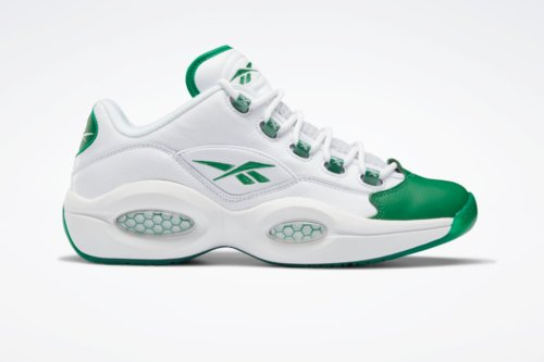 Reebok's Iconic Question Low Gets a 'Green Toe' Iteration