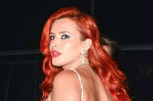 Bella Thorne Transforms Into 'The Little Mermaid' in a Seashell Bustier & Fishtail Skirt