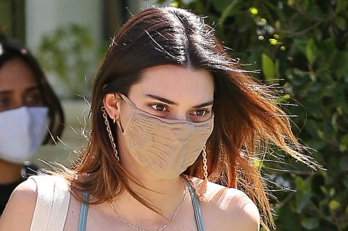 Kendall Jenner Dons This Cult-Favorite Cutout Dress & 'Ugly' Sandals to Give Away Over $80K