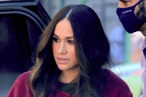 Meghan Markle Streamlines Her Style in Head-to-Toe Red to Visit Harlem Elementary School