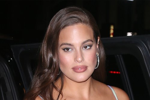 Ashley Graham Gives Biker Shorts an Upgrade in a $4K Chain Purse & Velcro-Strap Sandals