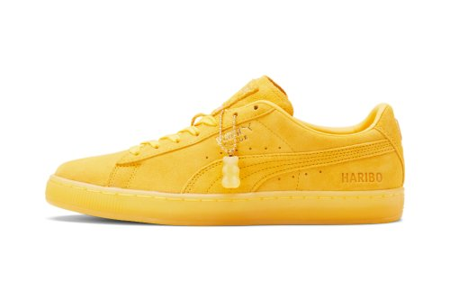 Puma and Haribo Give the Suede a Sweet Makeover Inspired by the Iconic Gummy Goldbears