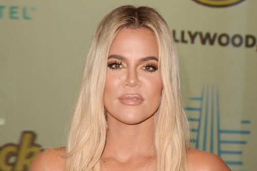 Khloe Kardashian Boosts Logomania in Branded Pants & Buzzy $24K Dior Air Jordans