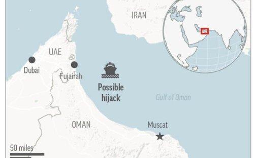 Iranian Proxies Accused Of Maritime Hijacking In Strait Of Hormuz