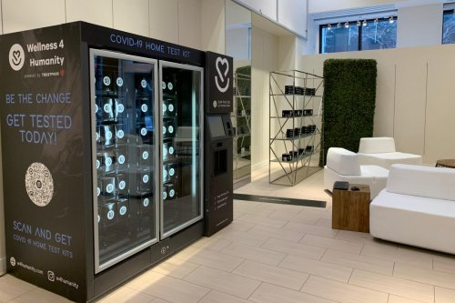 This Company Is Rolling Out Covid Test Vending Machines In Airports, Hotels, Subways And More