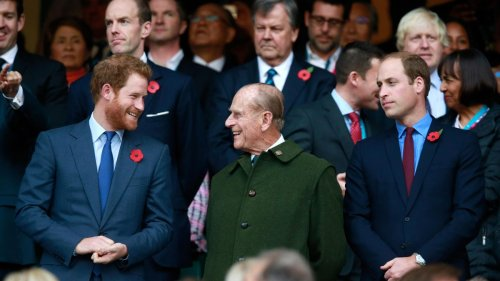 The Battle Lines At Philip's Funeral Party Take Shape: Prince Harry, Now In Windsor, And Prince William Post Tributes To Their Grandfather