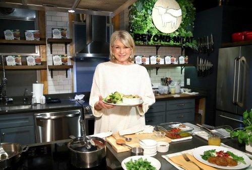 Stewart Cooks Up Her Latest Entree: Martha.com