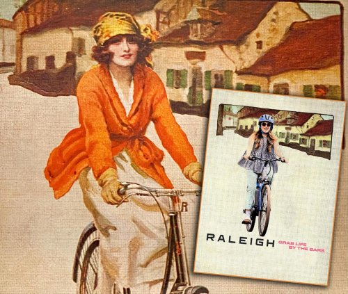 Raleigh Updates Century-Old Poster To Promote Women's Festival Of Cycling