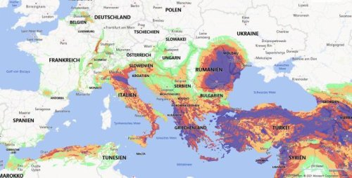 World's Most Comprehensive Global Earthquake Risk Map Online