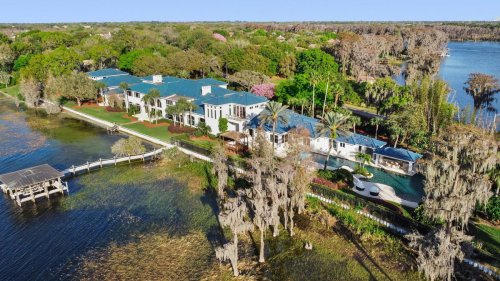 Shaquille O'Neal's Florida Estate Is Back On The Market For $16.5 Million