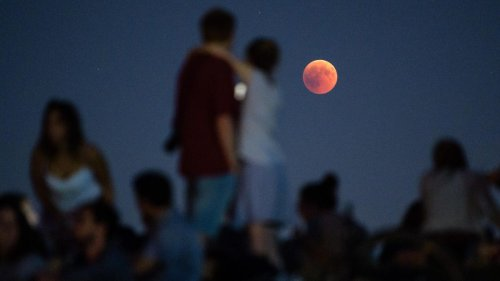 How Scientists Used The Last 'Blood Moon' To Measure The Moon, Watch A Meteorite Strike And See Earth As An 'Alien Planet'
