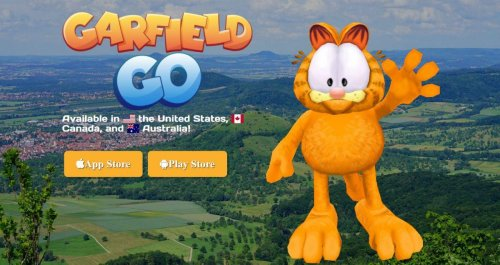 'Garfield GO' Is Real, Exists On iOS And Android