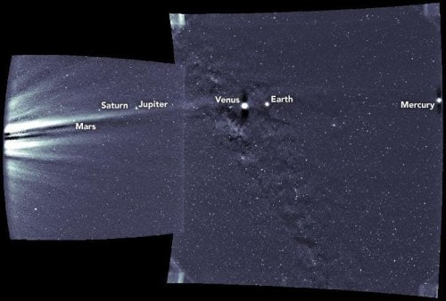 NASA Spacecraft Bound For The Sun Takes Awesome Shot Of Six Planets
