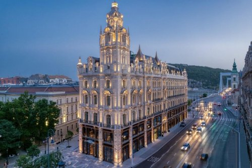 This Grand Budapest Palace Is Now Open As A Luxury Hotel