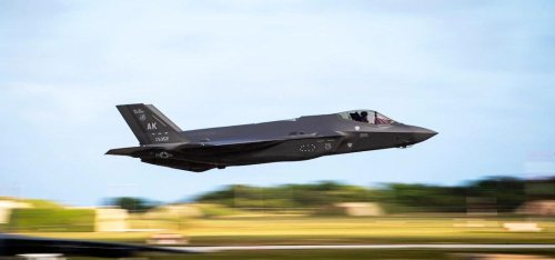 The U.S. Air Force Just Admitted The F-35 Stealth Fighter Has Failed
