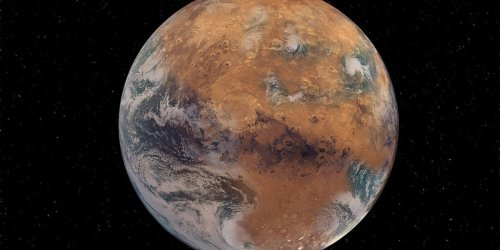 Martian Blues: Did Planet's Size Affect Its Ability To Hold Onto Water?