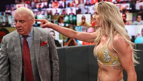 Ric Flair Released As WWE Roster Shakeup Continues