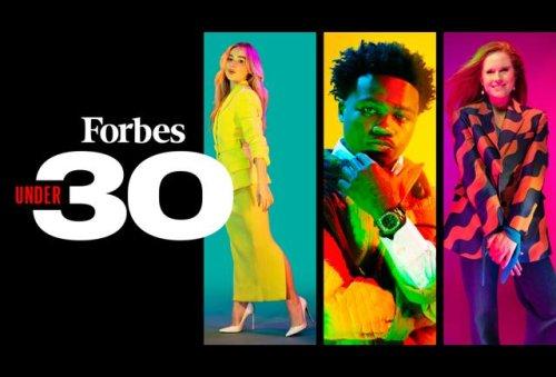Forbes 30 Under 30 Timeline