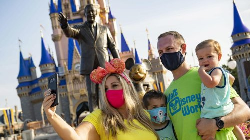 Disney World May Soon Lift Mask Mandate And Theme Park Capacity Will 'Immediately' Increase, CEO Says
