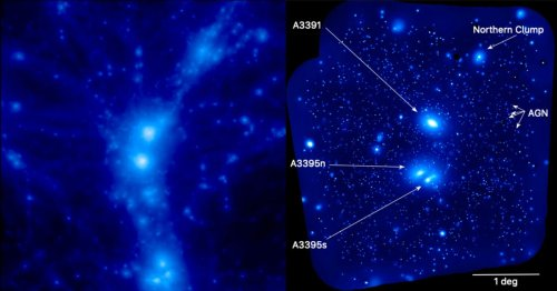 Astronomers Find Missing Mass Of The Universe In Vast Cosmic Filaments
