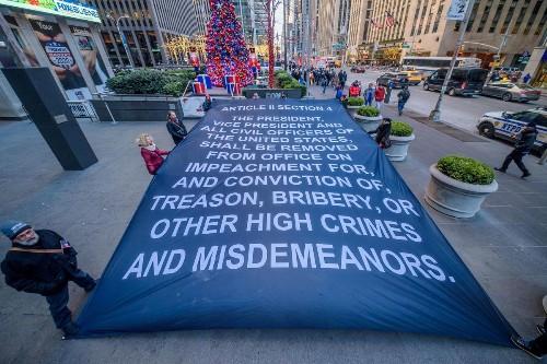 Protesting Trump cover image