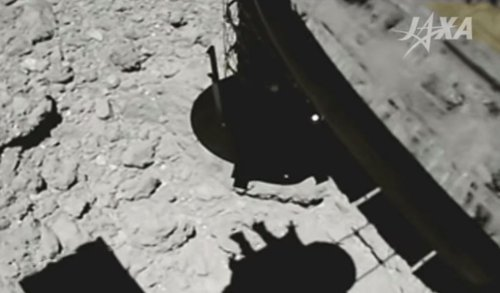 Japan Releases Incredible Asteroid Landing Footage From Its Hayabusa-2 Spacecraft