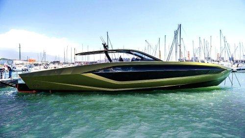 Conor McGregor Flaunts His New $3.6 Million Lamborghini Yacht—The 'Supercar Of The Sea'