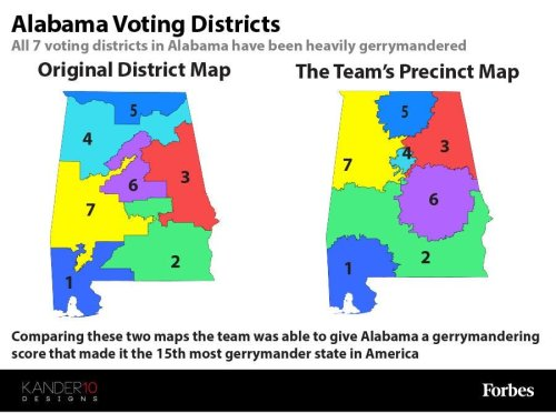 Middle School Students Solve The Issue Of Gerrymandering And Win $10,000 Prize [Infographic]