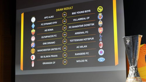 UEFA Europa League Round Of 16 Draw: AC Milan Will Face Manchester United, AS Roma To Meet Shakhtar Donetsk
