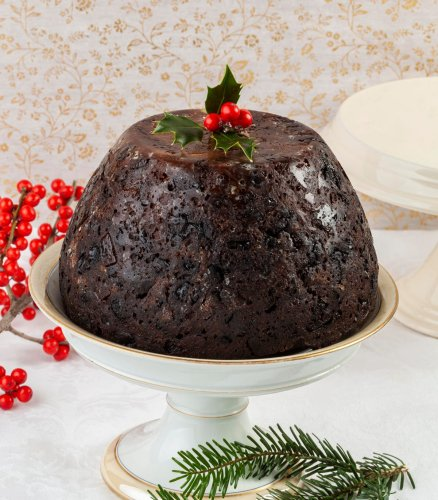 A Recipe For Boozy Figgy Pudding For Later, Whiskey Cocoa Bundt Cake For Now