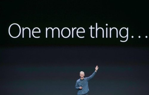 Forget The MacBook Pro, Apple Has Something Bigger Planned