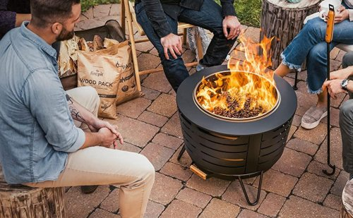 11 Outdoor Fire Pits That Bring The Heat To Your Backyard