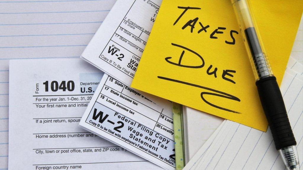 Taxes - cover