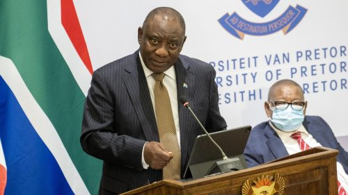 South Africa Announces Vaccine 'Hub' To Speed Up Vaccine Development